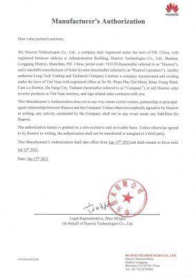 đơn vị phân phối chính thức của Huawei tại Việt Nam