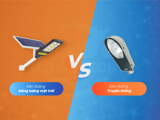 So sánh đèn đường năng lượng mặt trời
